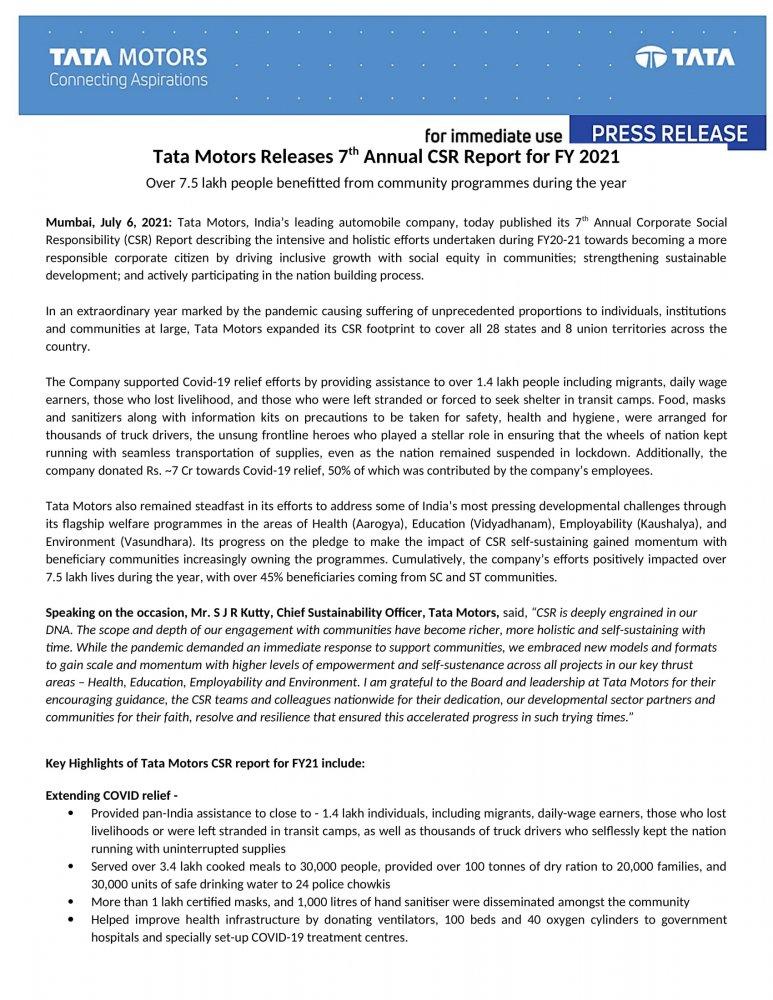 Press Release - Tata Motors Annual CSR Report FY21-1.jpg
