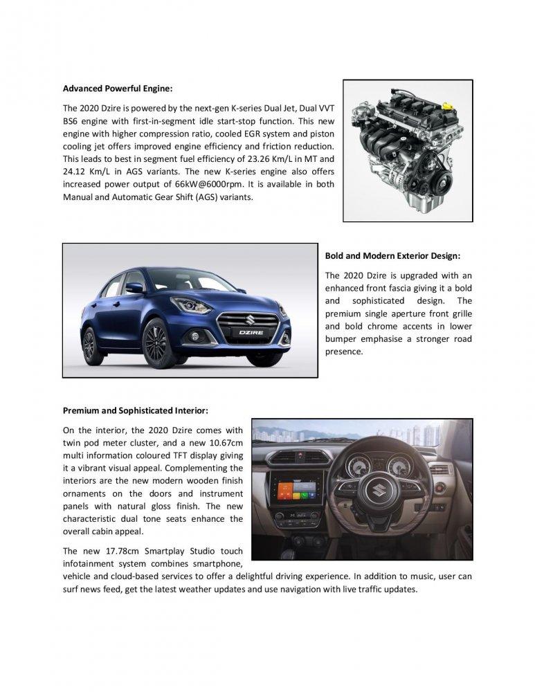 Press Release_Indias No.1 selling sedan Maruti Suzuki Dzire in a new premium avatar-page-002.jpg