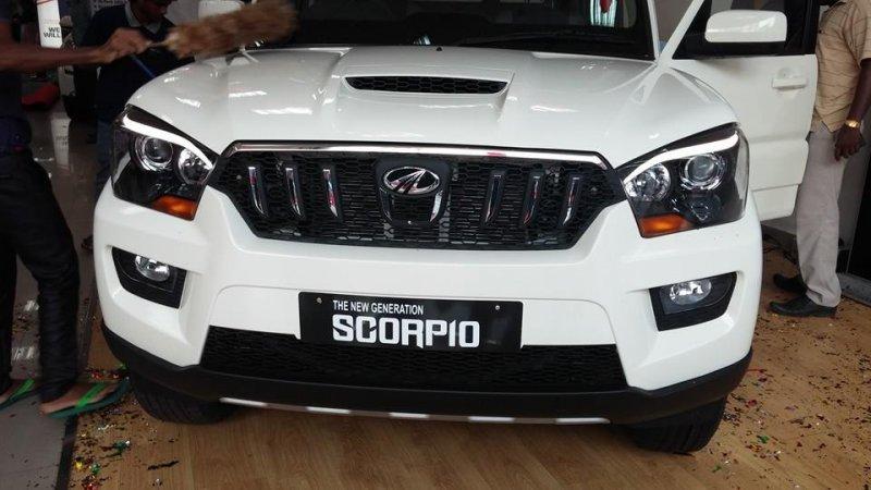 Mahindra Scorpio S10 (White): Introducing the Beastly Pegasus Jr