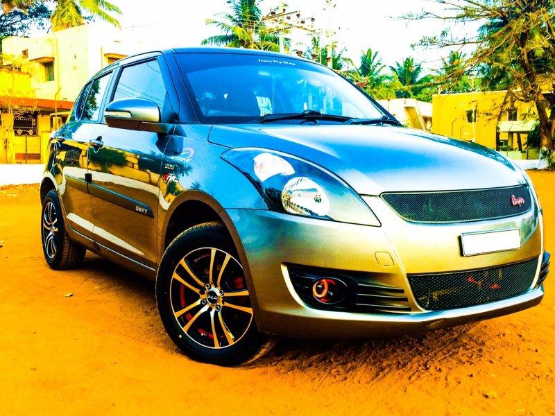 Maruti Suzuki Swift Exterior Modification Kit   The Automotive India