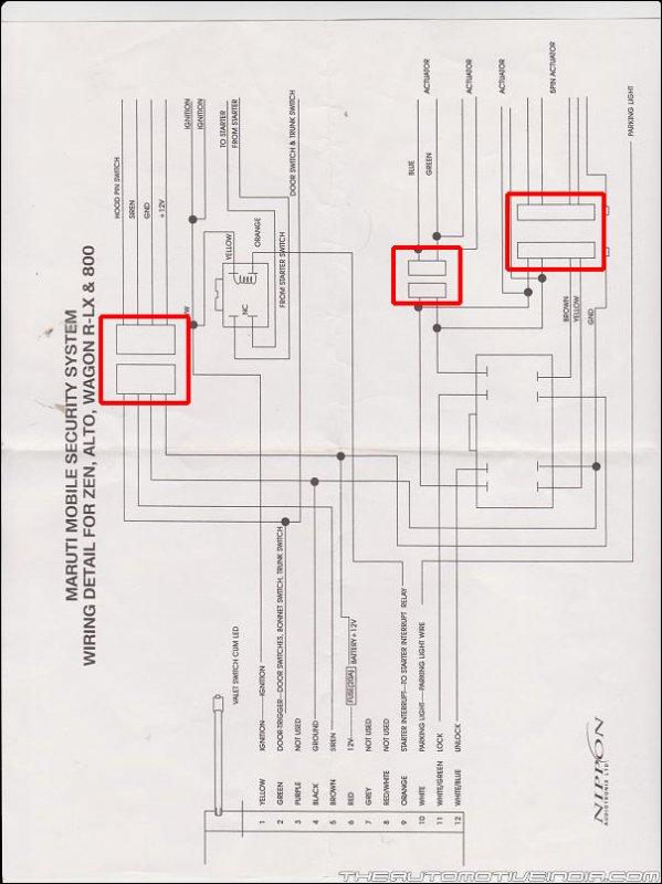 Autocop Central Locking Wiring Diagram - Wiring Diagrams DataUssel
