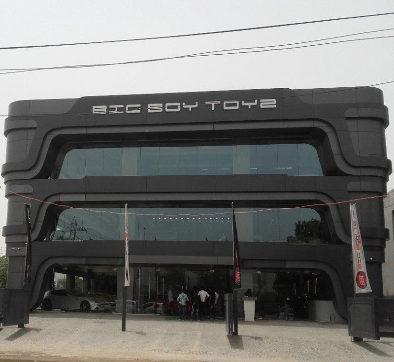 Official Coverage Big Boy Toyz Gurgaon Showroom The Automotive India