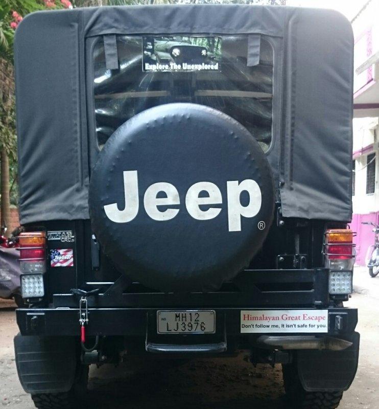 Mahindra Thar Modified' | The Automotive India