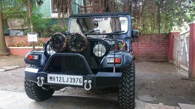 Mahindra Thar Modified'   The Automotive India