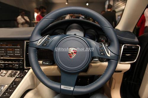 Porsche Panamera is here!