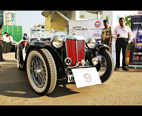 The Vintage Car Drive in Mumbai