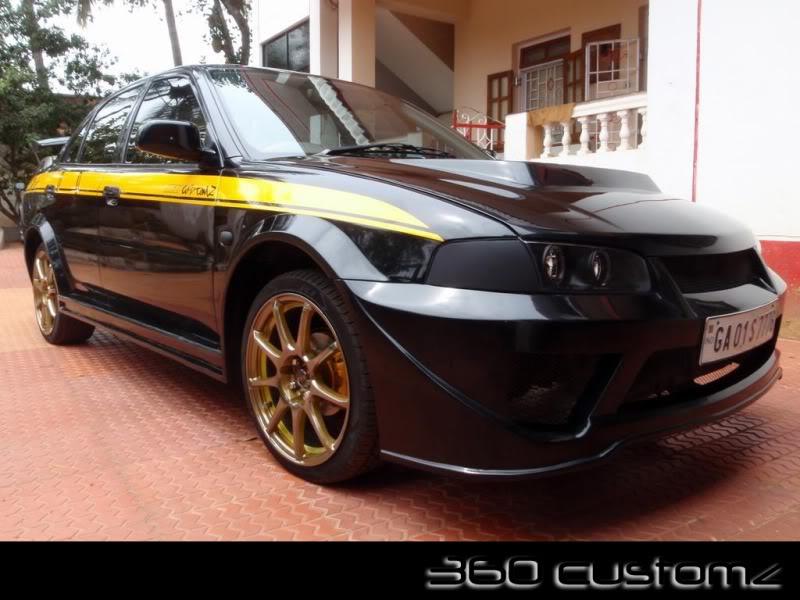 360 Custom'z + Sound Factor:Street Spec's Customized Mitsubishi Lancer