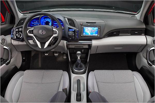 Hybrid Honda tries to be hip