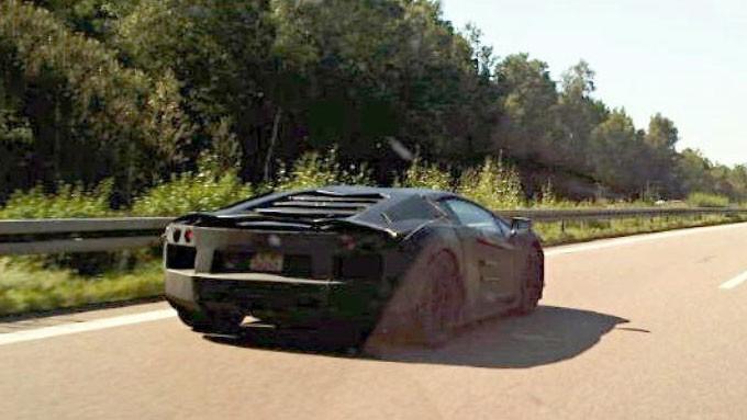 Spy Shots: Lamborghini Jota (Murciélago Replacement)