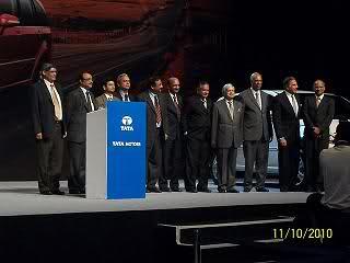 Tata Aria Launch Ceremony at Mumbai NCPA