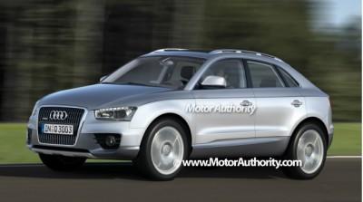 Audi Q3 Spyshots and Sketches