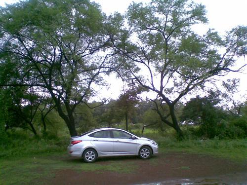 Driving is Believing...Hyundai Verna Fluidic!