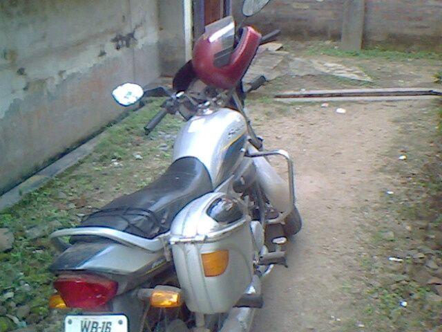 One Crazy Biker..That's Me!