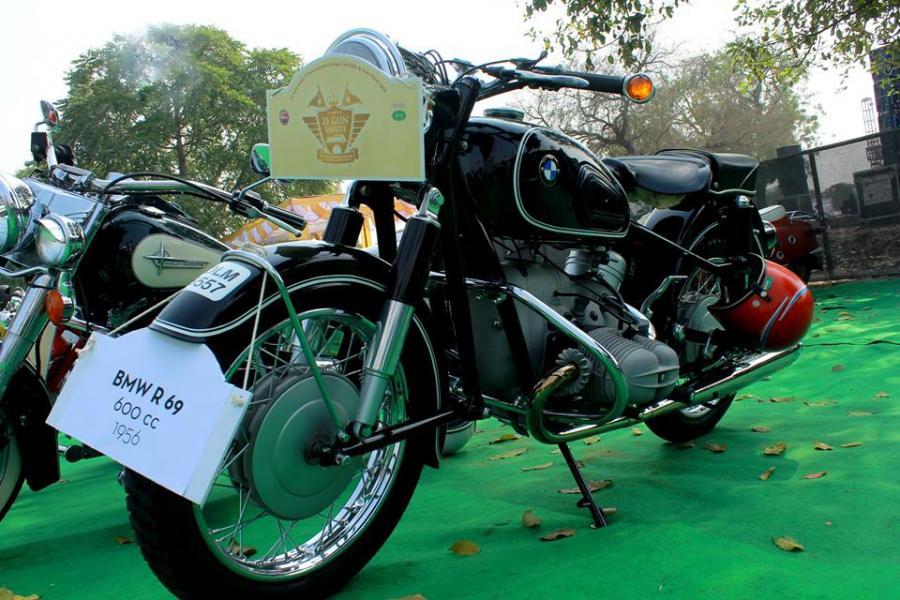21 Gun Salute International Vintage Car Rally, Delhi: 21 - 22 Feb, 2015