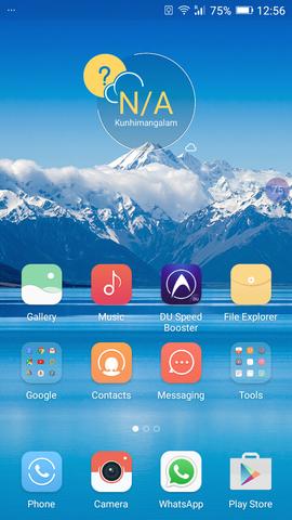 Your Mobile's Homescreen Shots - Share 'em Here.
