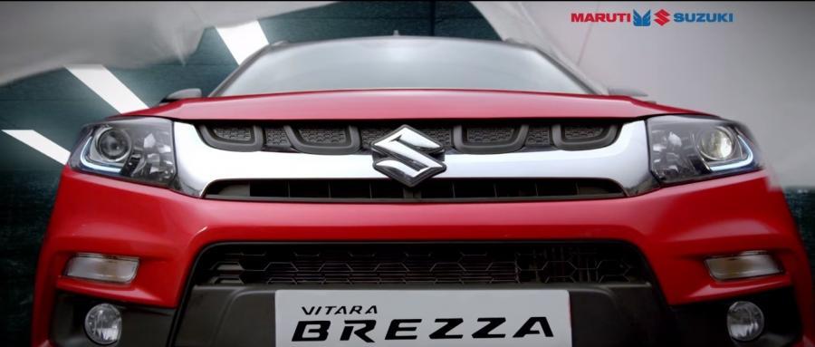 Maruti Suzuki's Compact Crossover Vitara Brezza Launched!