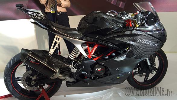 TVS Unveils The Akula 310