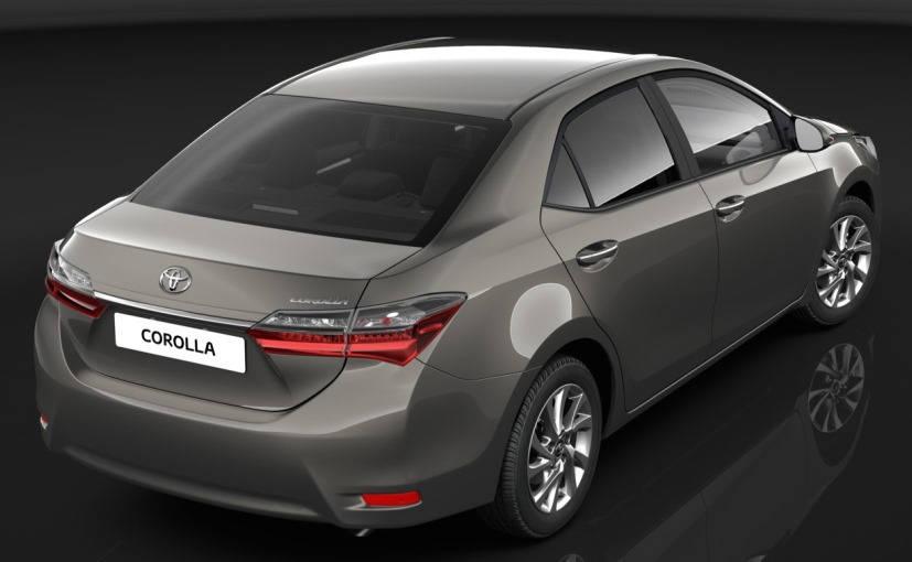 Toyota Corolla Altis 2016 Spied?