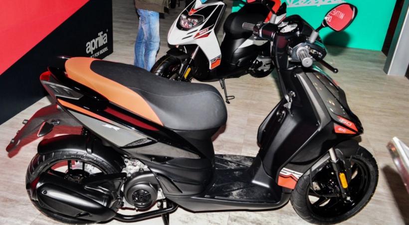 Piaggio India Unveils Aprilia SR 150 Scooter