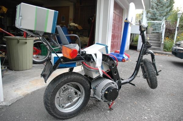 Kinetic Honda Conversion To EV