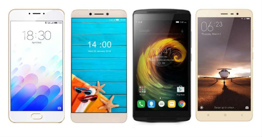 Meizu M3 Note vs Xiaomi Redmi Note 3 vs LeEco Le 1s vs Lenovo K4 Note