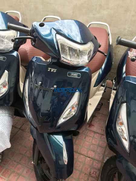 Surprising Tvs Jupiter Grande Edition Spied The Automotive India Machost Co Dining Chair Design Ideas Machostcouk